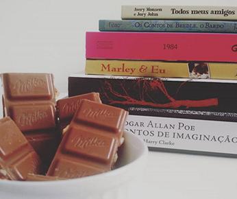 Tag Chocolate Literário