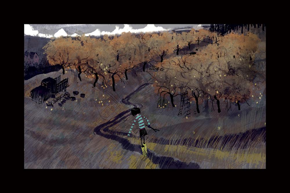 Arte Conceitual -Coraline e o Mundo Secreto