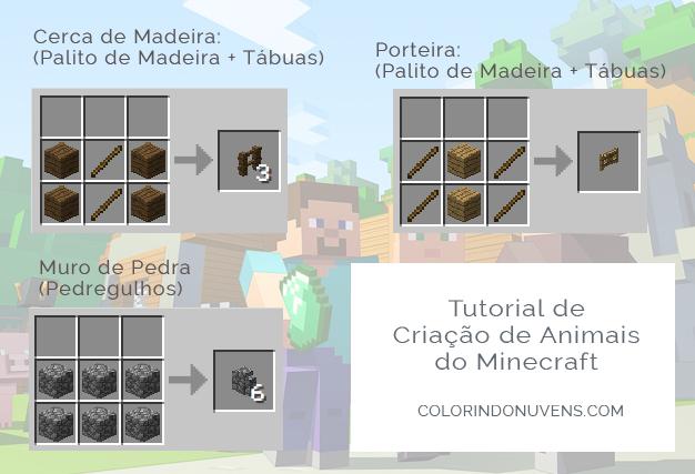 Guia de Criação de Animais de Fazenda no Minecraft