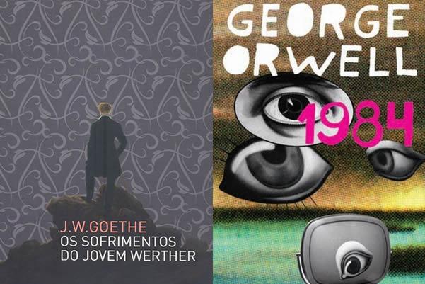 1984 e Os sofrimentos do Jovem Werther