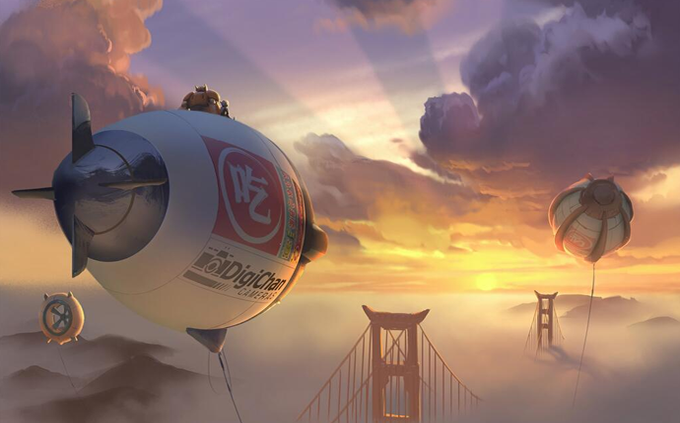 Arte conceitual - Big hero 6