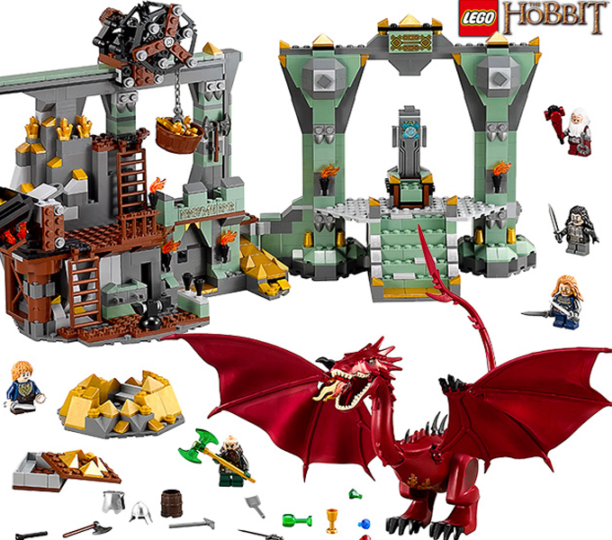 Lego -The HobbitThe Lonely Mountain
