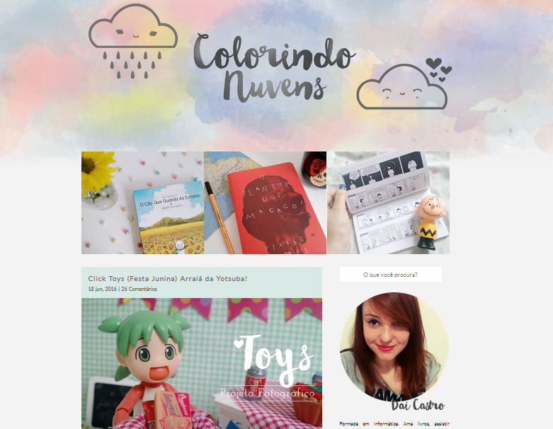 terceiro layout do blog