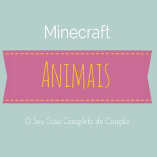 Animais Minecraft