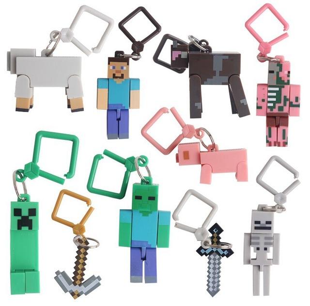 Chaveiros Minecraft - Primeira Geração