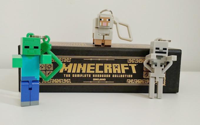Minha Coleção de Chaveiros Minecraft – Primeira Geração