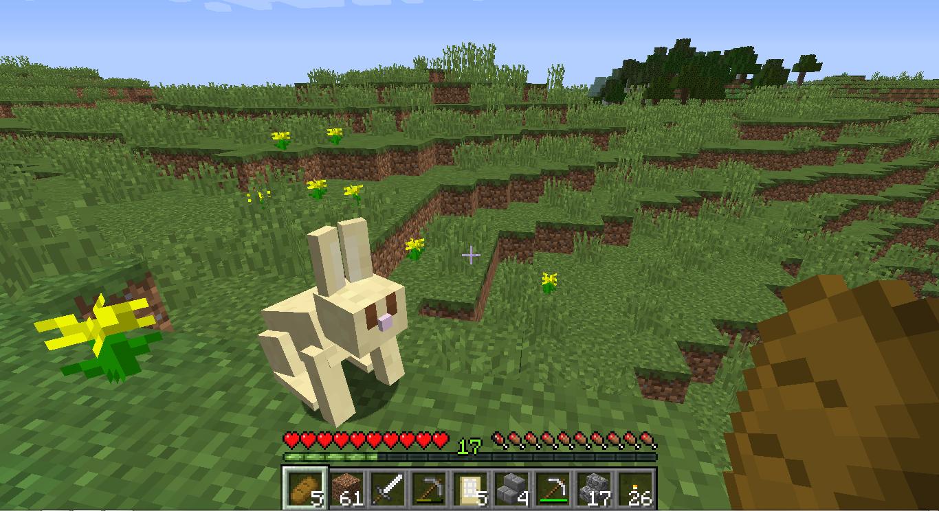 Minecraft Fazenda Plantação Improvisada