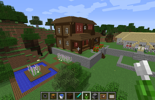 Minecraft casas minha casa de fazenda estilo colonial for Minecraft videos casas