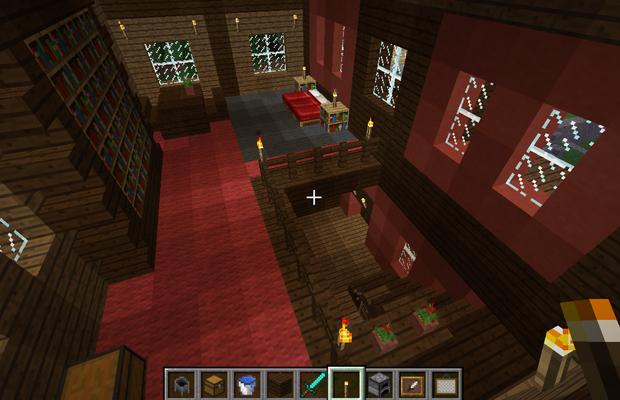 Minecraft Casas - Casa de Fazenda