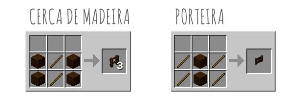 Porteira do Minecraft
