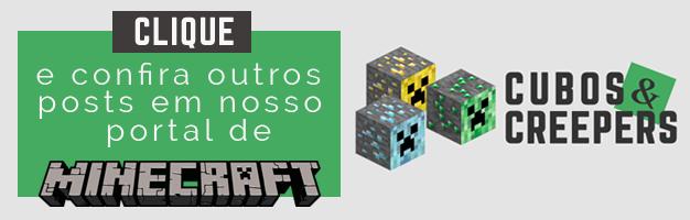 Cubos e Creepers - Portal de Minecraft