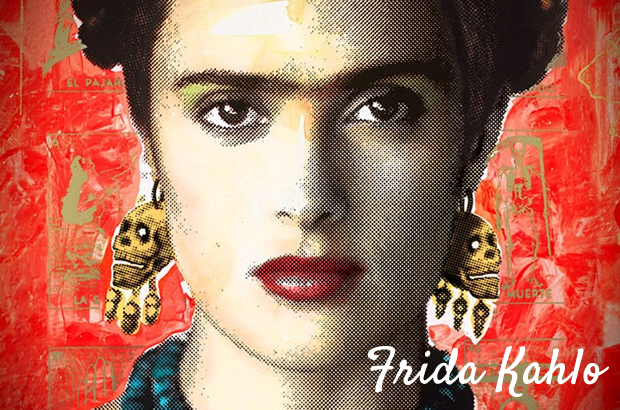 frida colorindo nuvens