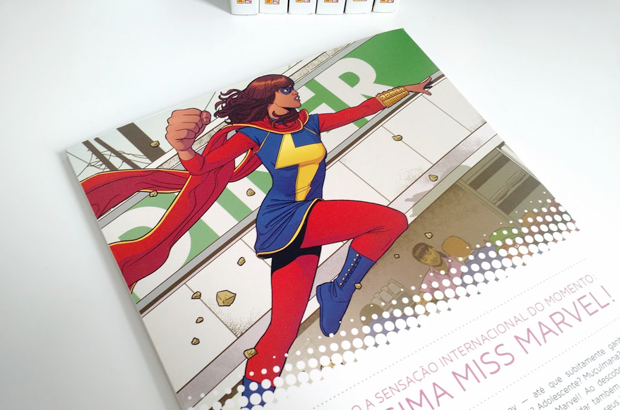 Miss Marvel - colorindo nuvens