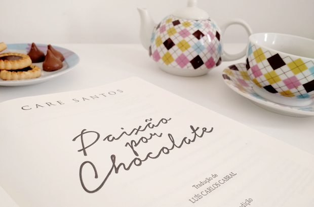 Livro - Paixao por Chocolate de Care Santos