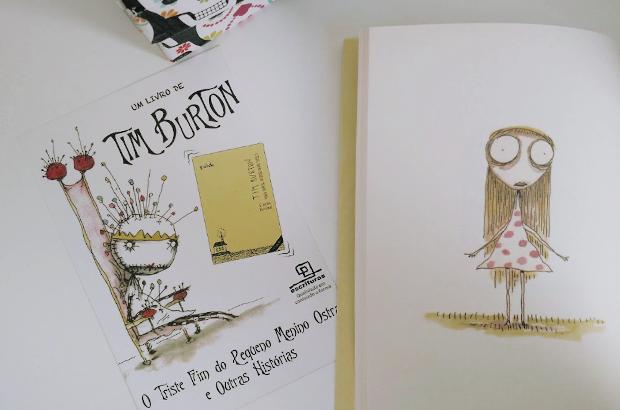 Livro O Triste Fim do Pequeno Menino Ostra - Tim Burton