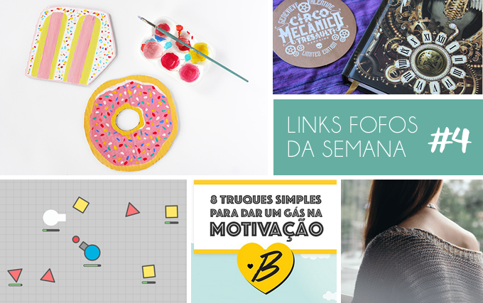 Links da semana - Colorindo Nuvens