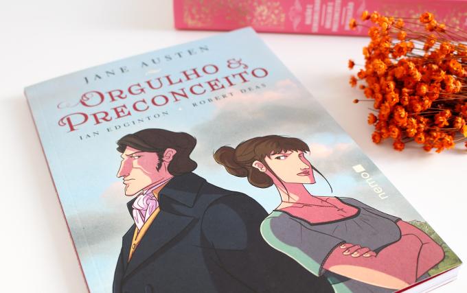 Resenha de Quadrinhos -Orgulho e Preconceito Jane Austen