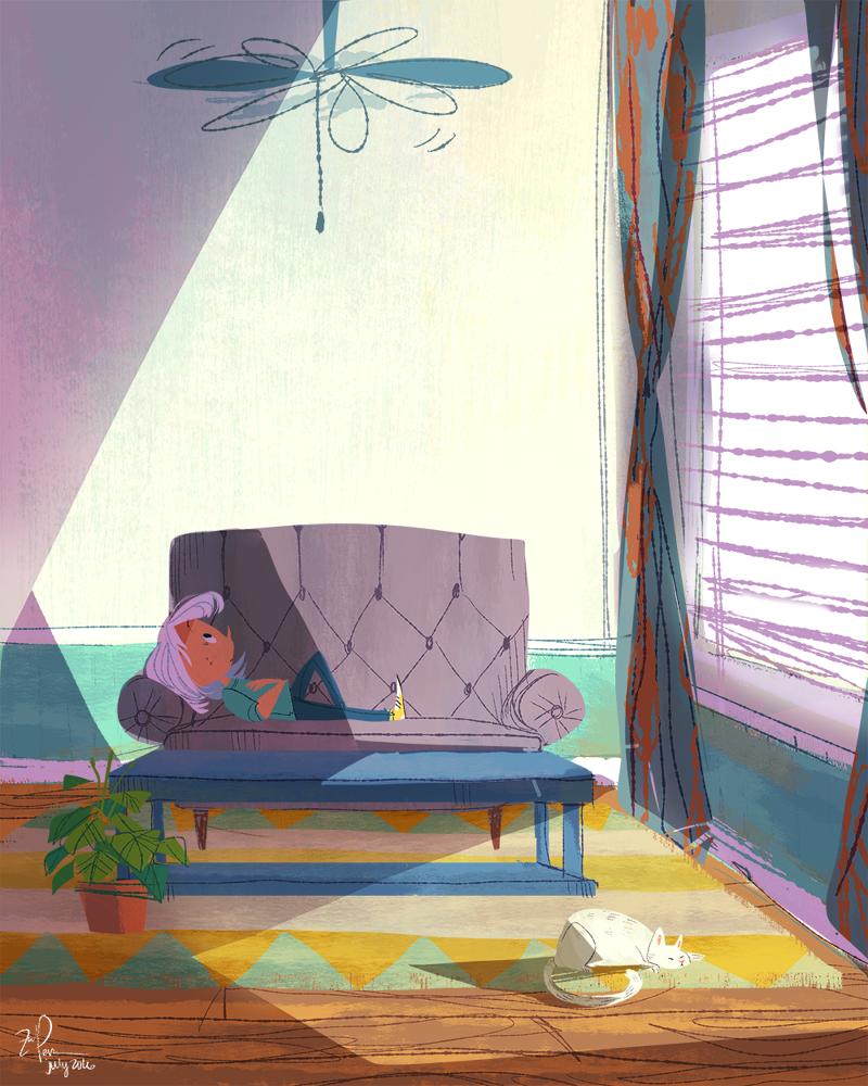 Ilustrações de zoe persico