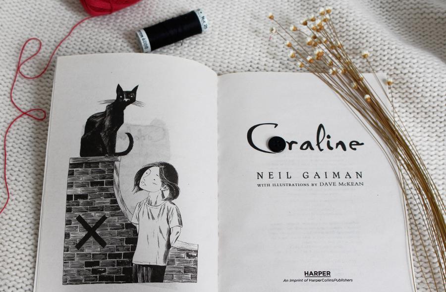 Resenha de Livro Coraline Neil Gaiman