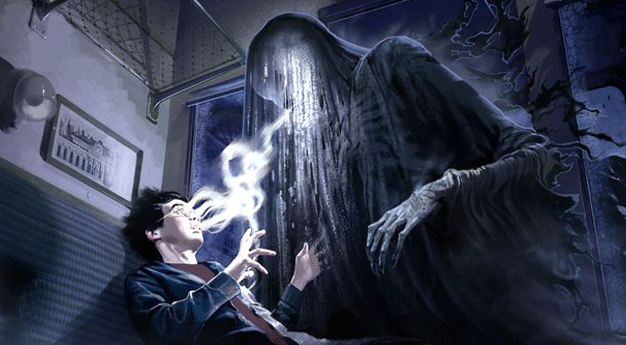 Animais Fantásticos Harry Potter Dementadores