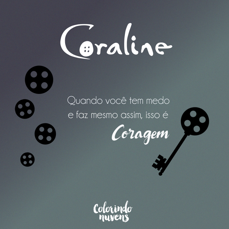 quote coraline colorindo nuvens
