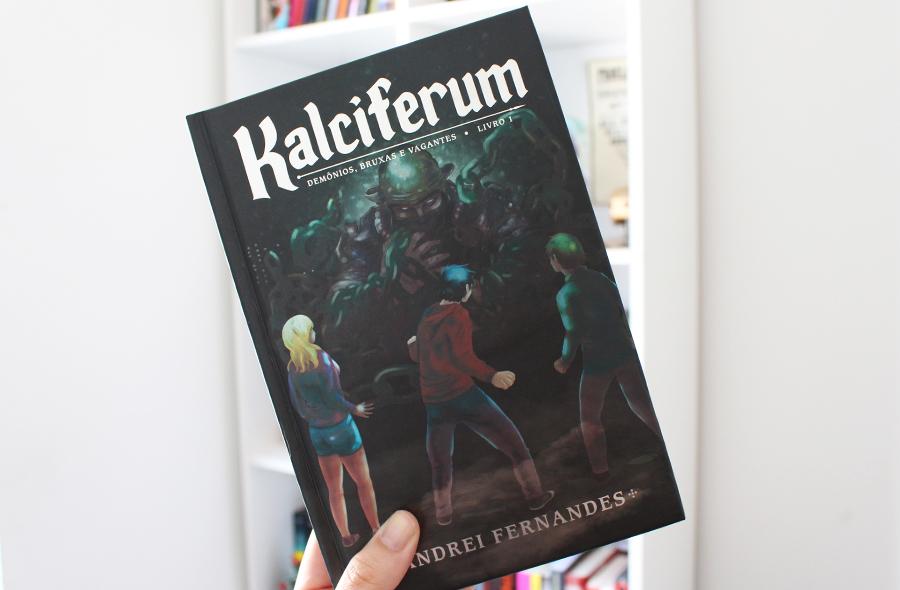 Aniversário Presentes Kalciferum Demônios, Bruxas e Vagantes de Andrei Fernandes