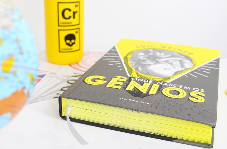 Resenha de Livro Onde Nascem os Gênios Darkside Books