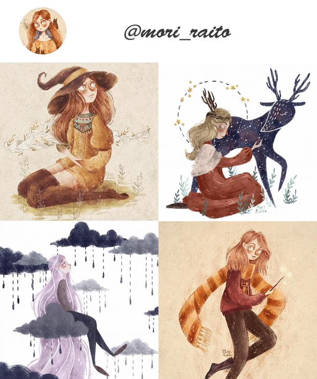 Instagram de ilustradores para seguir @Instagram de ilustradores para seguir @mori_raito