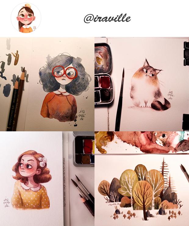Instagram de ilustradores para seguir @Instagram de ilustradores para seguir @iraville