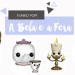 Funko pop! de A Bela e a Fera