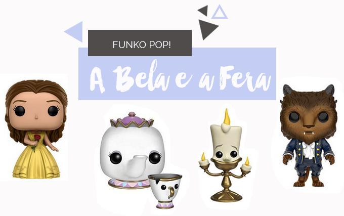 Toys | Colecionaveis Funko Pop! de A Bela e a Fera