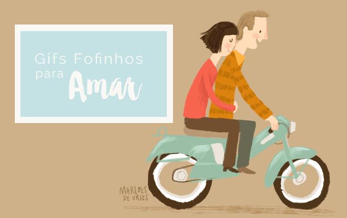 Gifs Fofinhos by Marloes De Vries ColorindoNuvens