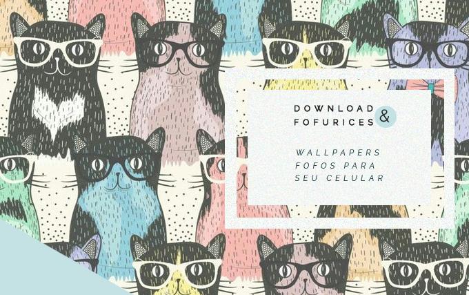 wallpaper fofos para celular Colorindo Nuvens