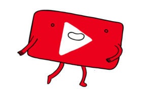 Logo Youtube fofo