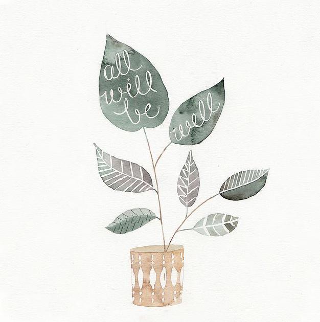 Ilustrações em aquarela fofas de Julianna Swaney