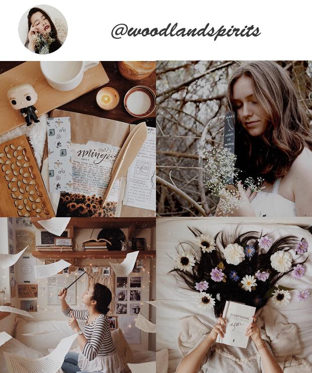 Instagrams Gringos para Seguir @woodlandspirits