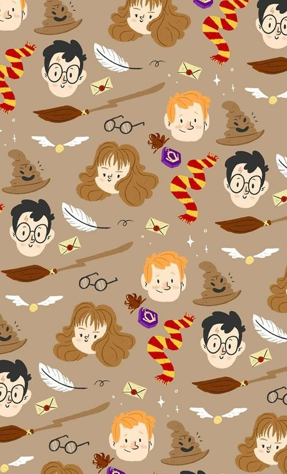 WallpaperFofinhos HarryPotter Celular ColorindoNuvens 05