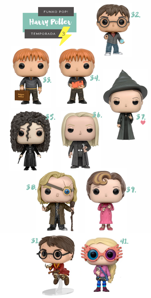 Funko Pop Harry Potter Temporada 3