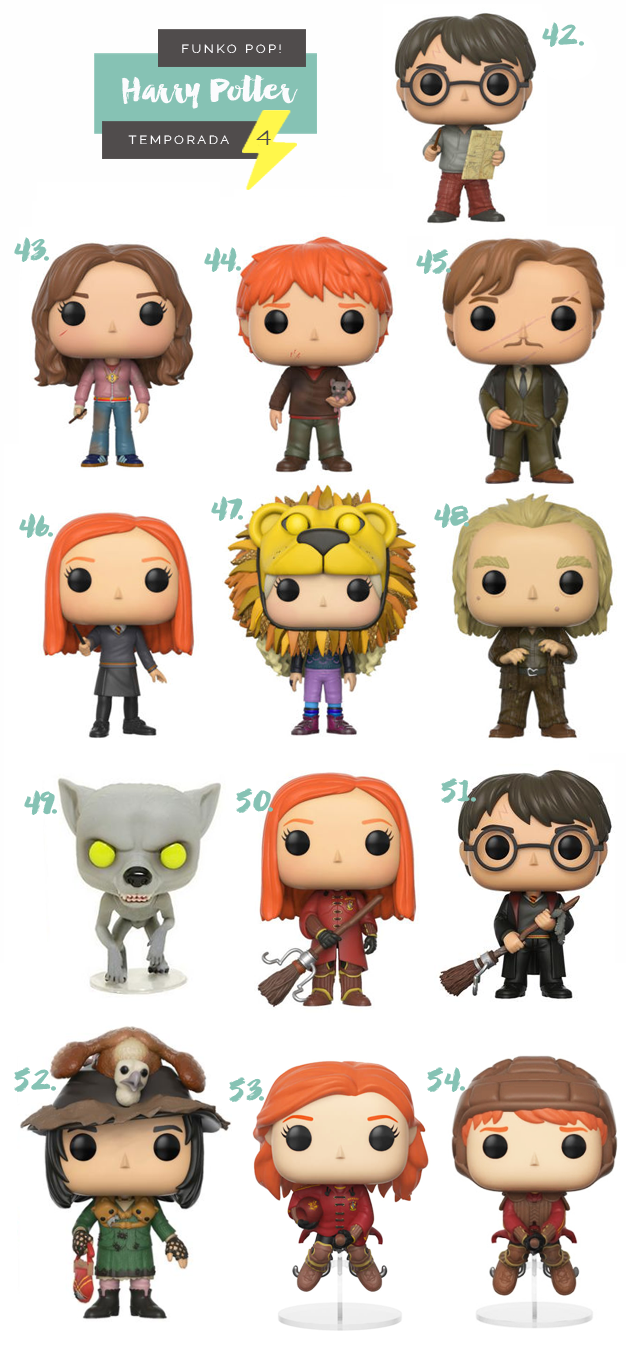 Funko Pop Harry Potter Temporada 4