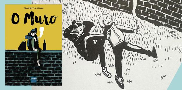 Capa O Muro HQ Quadrinhos