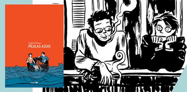 Capa Pilulas Azuis HQ- Quadrinhos