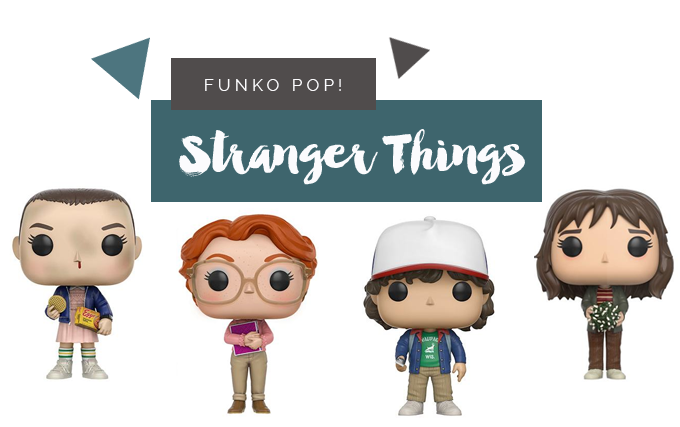 Toys | Colecionáveis Funko Pop! de Stranger Things (Todas as Temporadas)