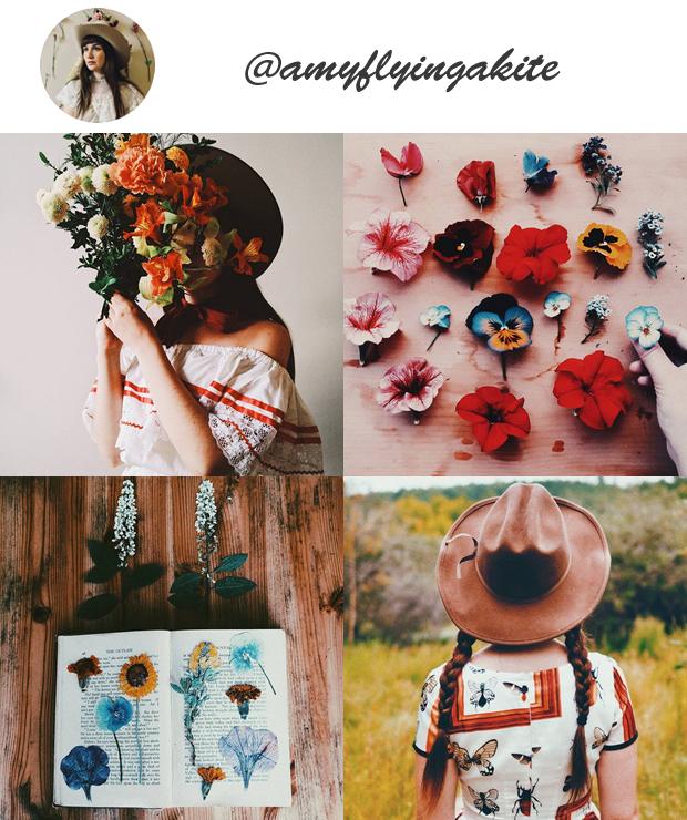 Perfis Instagram Inspiradores Gringos para seguir @amyflyingakite