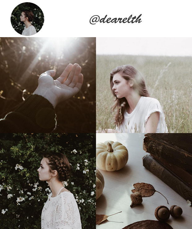 Perfis Instagram Inspiradores Gringos para seguir @dearelth