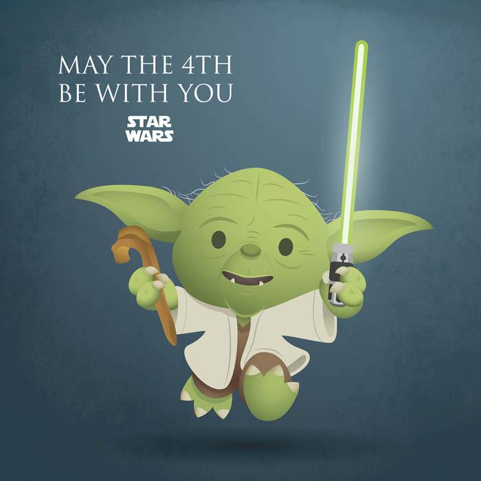 Yoda Personagens Star Wars by jerrod maruyama