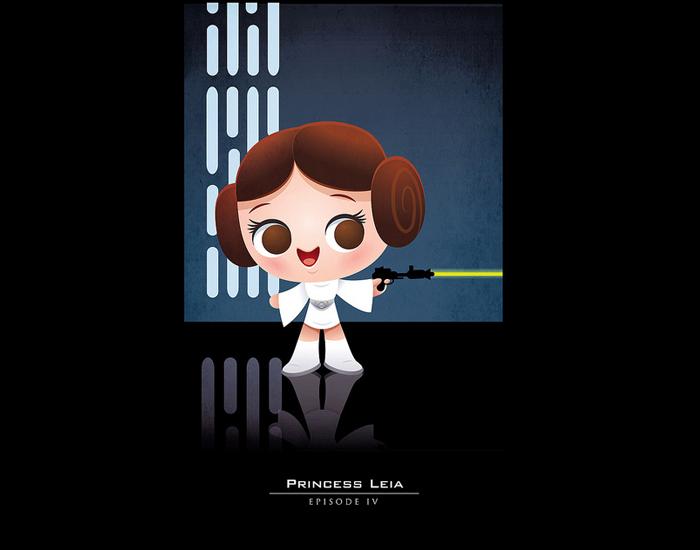 Princesa Leia Star Wars by jerrod maruyama