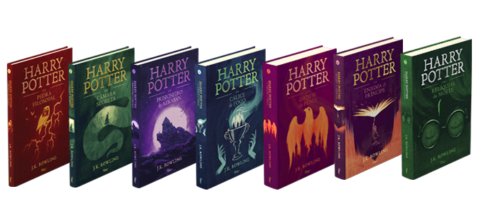 Box Livros Harry Potter Colorindo Nuvens