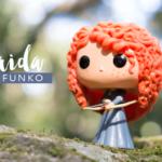 Colecionáveis FunkoPop! Merida Disney Princesas