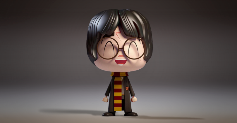 Harry Potter Vinyl Funko Colorindo Nuvens