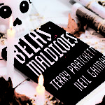 Resenha Livro Belas Maldições Neil Gaiman Terry Pratchettchet-ColorindoNuvens